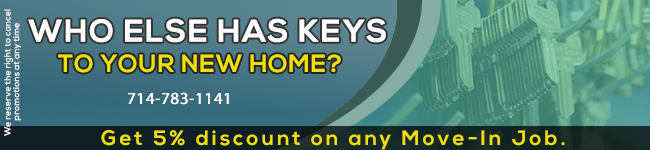 Locksmith Services in Orange,CA